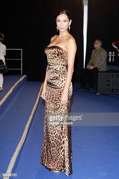 Eugenia Chernyshova attends the third day of the 14th Annual Capri Hollywood International Film Festival on December 29 2009 in Capri Italy