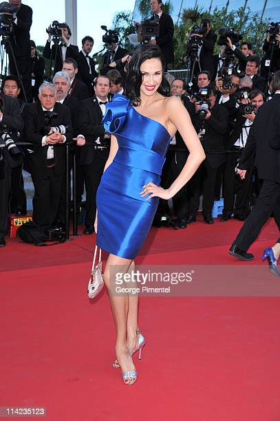 Eugenia Chernyshova attends The Tree Of Life Premiere during the 64th Annual Cannes Film Festival at Palais des Festivals on May 16 2011 in Cannes...