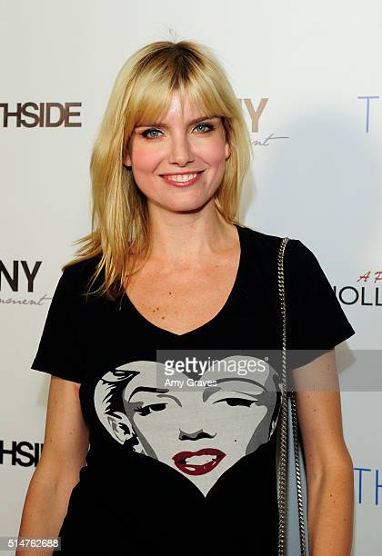 Eugenia Kuzmina attends the 5th Annual LANY Entertainment Mixer at St Felix on March 10 2016 in Hollywood California