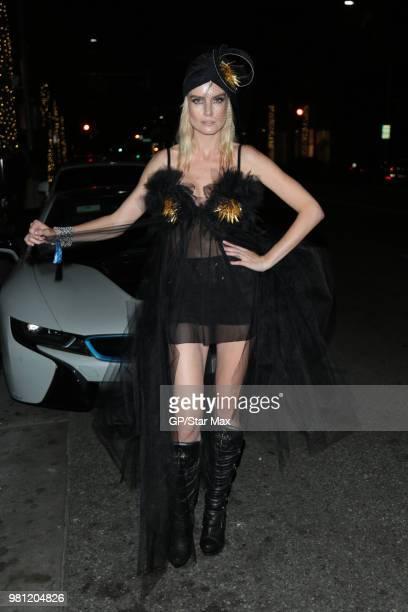 Eugenia Kuzmina is seen on June 21 2018 in Los Angeles CA