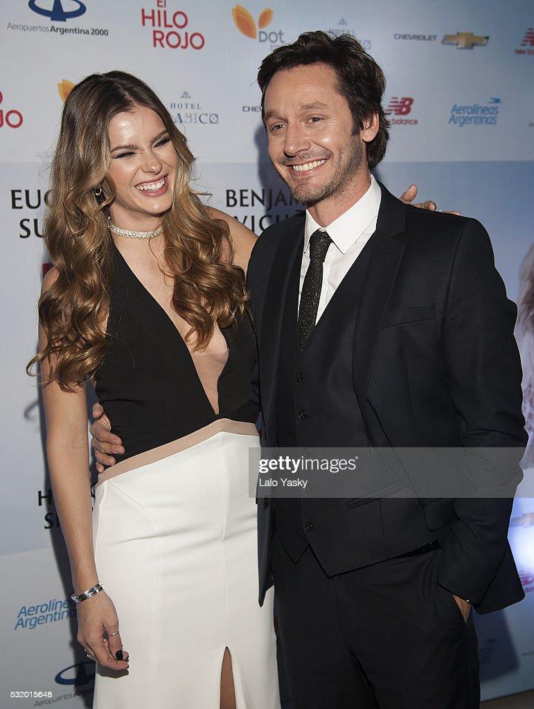Eugenia Suarez and Benjamin Vicuna Attend 'El Hilo Rojo' Premiere Buenos Aires : News Photo