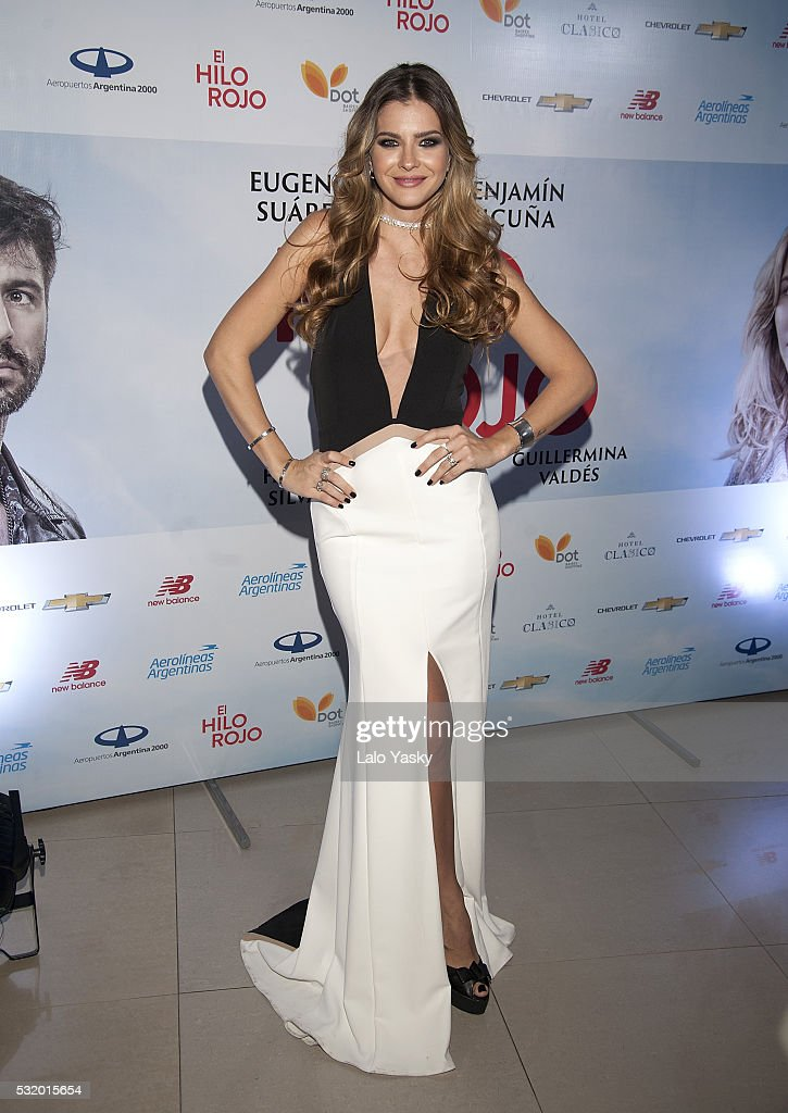 Eugenia Suarez and Benjamin Vicuna Attend 'El Hilo Rojo' Premiere Buenos Aires : News Photo