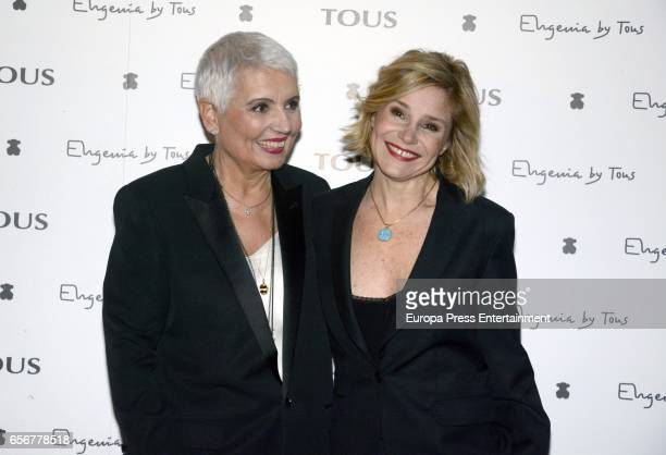 Eugenia Martinez de Irujo and Rosa Oriol attend the launching of Eugenia's new Tous jewelry collection 'Tanuca' dedicated to her mother Duchess of...