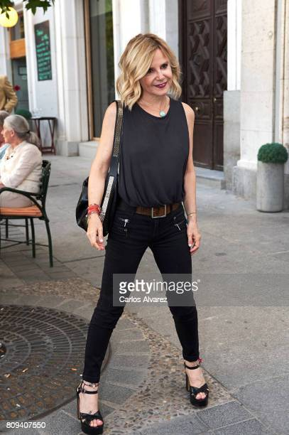Eugenia Martinez de Irujo attends the Sting concert at the Royal Teather on July 5 2017 in Madrid Spain