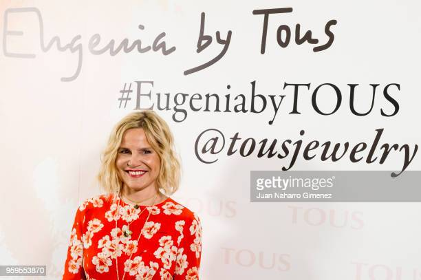 Eugenia Martinez de Irujo attends TOUS New Collection presentation at TOUS store on May 17 2018 in Madrid Spain