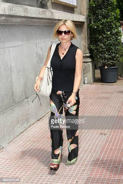 Eugenia Martinez de Irujo is seen on June 11 2014 in Madrid Spain