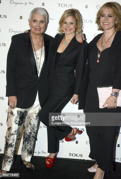 Eugenia Martinez de Irujo , Rosa Tous and Rosa Oriol attend the launching of Eugenia's new Tous jewelry collection 'Tanuca' dedicated to her mother...