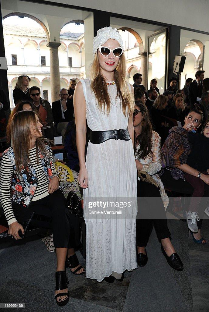 Missoni: Front Row - Milan Fashion Week Womenswear Autumn/Winter 2012/2013