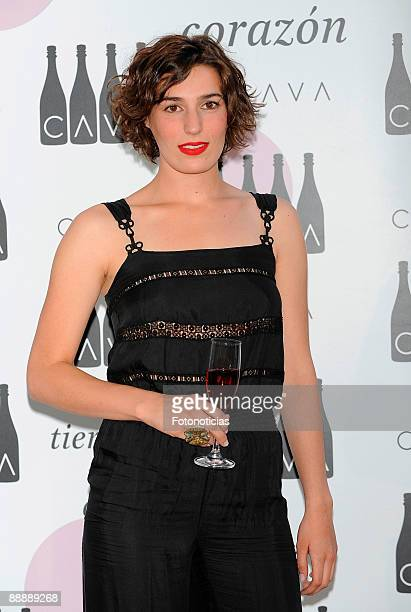 Eugenia Ortiz Domecq attends Cava Rosado cocktail party, at Villa Magna Hotel on July 7, 2009 in Madrid, Spain.