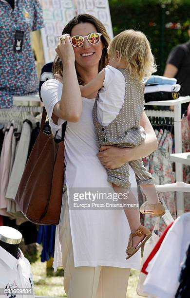 Eugenia Osborne attends the Global Champions Tour show jumping tournament on May 22 2016 in Madrid Spain