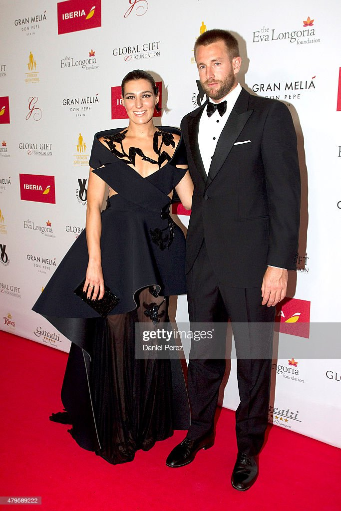Eugenia Osborne attends the Global Gift Gala 2015 red carpet at Gran Melia Don pepe Resort on July 5, 2015 in Marbella, Spain.
