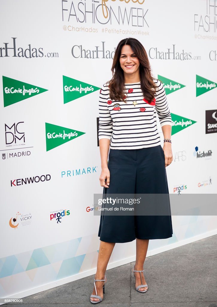 Eugenia Osborne during 'The Petite Fashion Week' Photocall in Madrid on October 6, 2017 in Madrid, Spain.