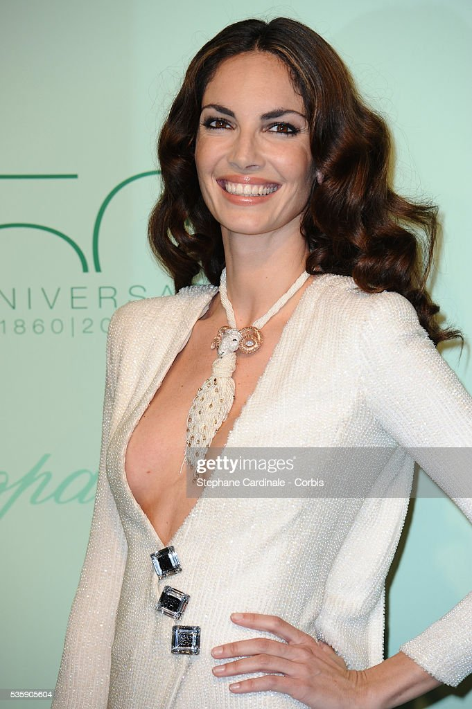 Eugenia Silva at the 'Chopard 150th Anniversary Party' during the 63rd Cannes International Film Festival.