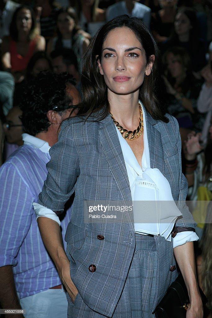 Mercedes Benz Fashion Week Madrid S/S 2015 - Celebrities Day 2