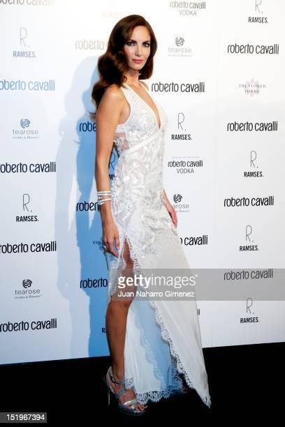 Eugenia Silva attends Roberto Cavalli Boutique on September 13 2012 in Madrid Spain