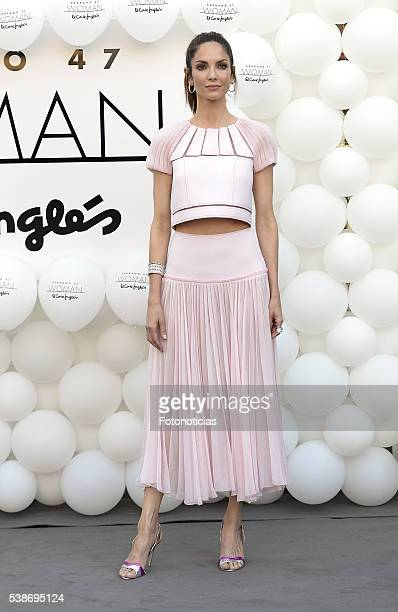 Eugenia SIlva attends the El Corte Ingles 'Serrano 47 Women' presentation on June 7 2016 in Madrid Spain