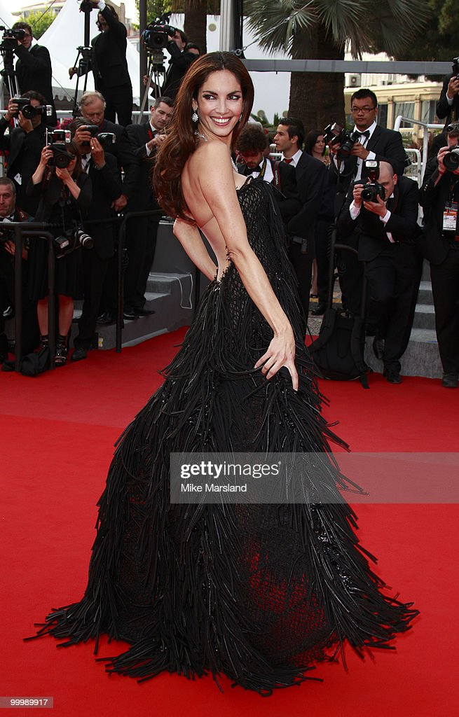 Eugenia Silva attends the premiere of 'Poetry' held at the Palais des Festivals during the 63rd Annual International Cannes Film Festival on May 19, 2010 in Cannes, France.