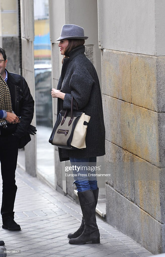 Eugenia Silva and Adriana Ugarte Sighting In Madrid - December 12, 2013