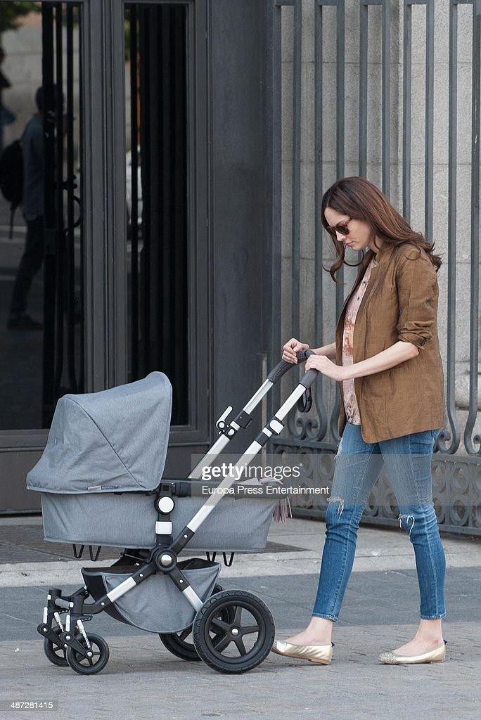 Celebrities Sighting In Madrid - April 09, 2014