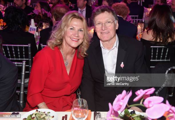 Eugenia Winwood and Steve Winwood attend A Funny Thing Happened On The Way To Cure Parkinson's benefitting The Michael J Fox Foundation at the Hilton...