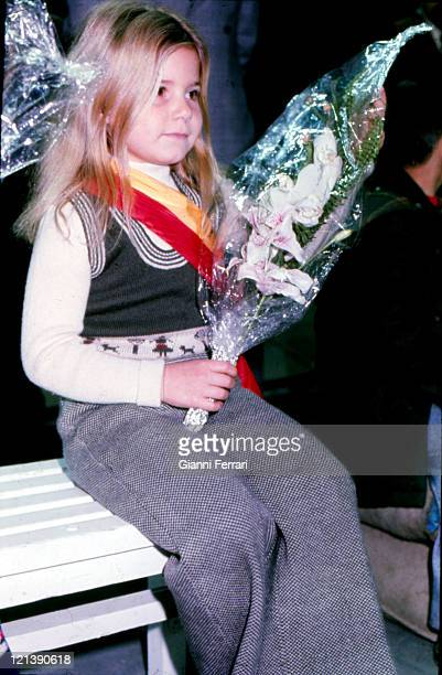 Eugenia XI Duchess of Montoro daughter of the Duchess Cayetana of Alba in a children's party Madrid Spain Photo by Gianni Ferrari/Cover/Getty Images
