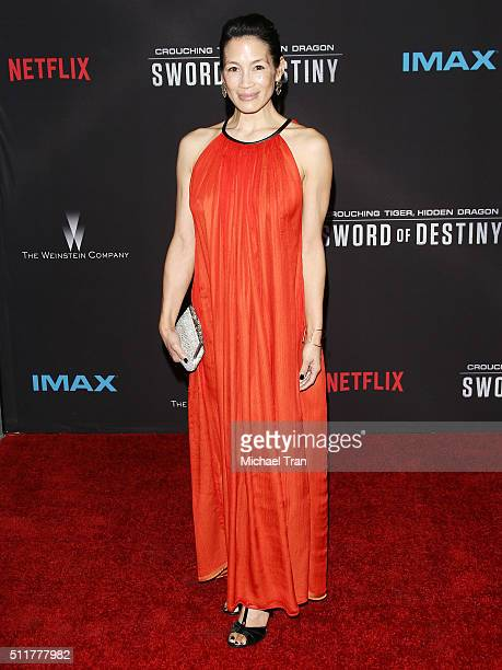 "Eugenia Yuan arrives at the premiere of Netflix's ""Crouching Tiger, Hidden Dragon: Sword Of Destiny"" held at AMC Universal City Walk on February 22,..."