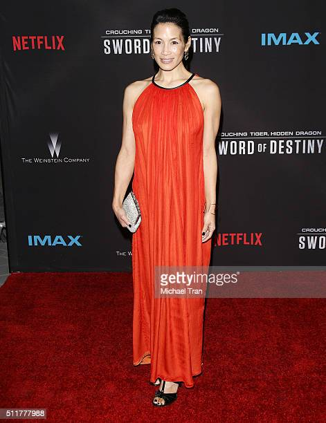 Eugenia Yuan arrives at the premiere of Netflix's Crouching Tiger Hidden Dragon Sword Of Destiny held at AMC Universal City Walk on February 22 2016...
