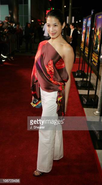 "Eugenia Yuan during ""Kung Fu Hustle"" Los Angeles Premiere - Red Carpet at Cineramadome in Hollywood, California, United States."
