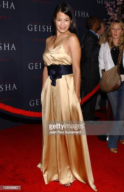"Eugenia Yuan during ""Memoirs of a Geisha"" Los Angeles Premiere - Arrivals at Kodak Theatre in Hollywood, California, United States."