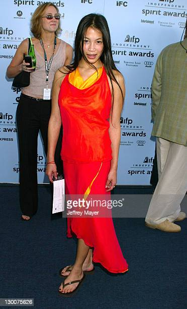Eugenia Yuan during The 18th Annual IFP Independent Spirit Awards - Arrivals at Santa Monica Beach in Santa Monica, California, United States.