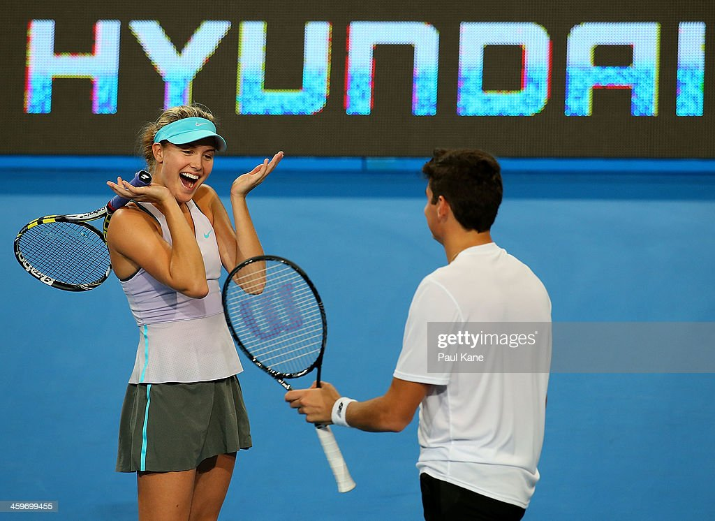 2014 Hopman Cup -  Day 2 : News Photo