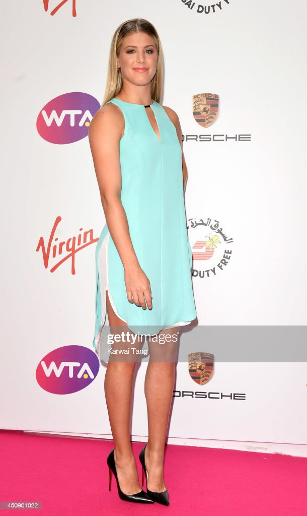 eugenie bouchard attends the wta pre-wimbledon party at kensington    news photo