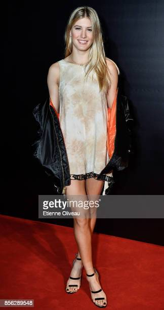 Eugenie Bouchard of Canada attends the 2017 China Open Player Party at Beijing Olympic Tower on October 1 2017 in Beijing China