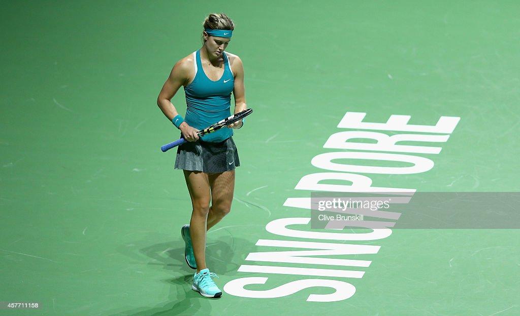 BNP Paribas WTA Finals: Singapore 2014 - Day Four : News Photo