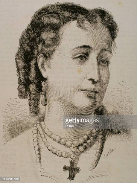 Eugenie de Montijo 16th Countess of Teba 15th Marchioness of Ardales Last Empress consort of the French as the wife of Napoleon III Emperor of the...