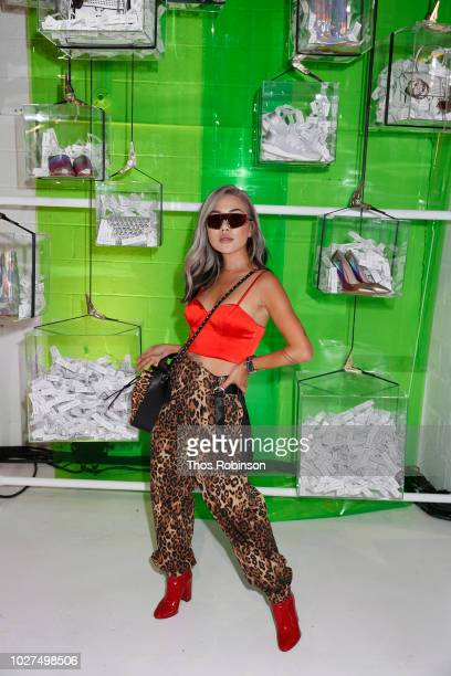 Eugenie Gray attends Aldo Collaborates With Refinery 29 On '29 Rooms' on September 5 2018 in New York City