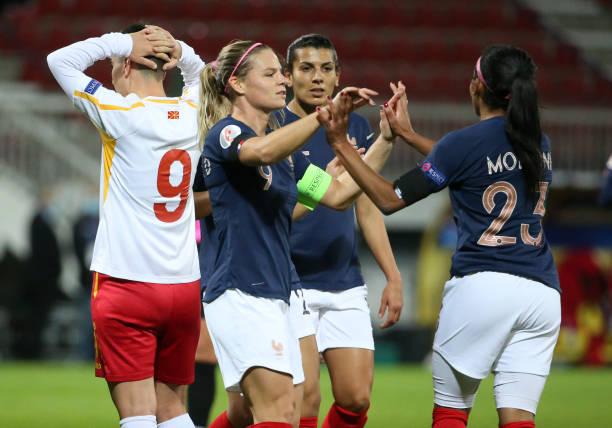 FRA: France Women v North Macedonia Women - UEFA Women's EURO 2022 Qualifier