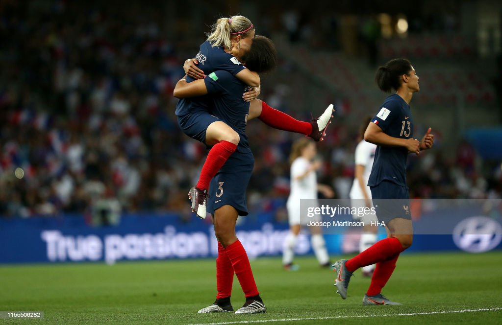France v Norway: Group A - 2019 FIFA Women's World Cup France : Photo d'actualité