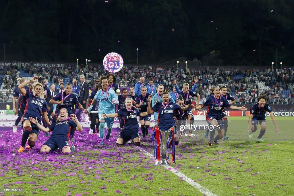 UEFA Women's Champions League'VfL Wolfsburg women v Olympique Lyonnais women' : Photo d'actualité