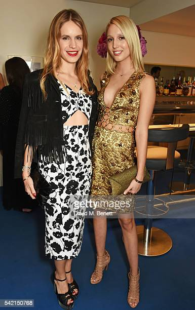Eugenie Niarchos and Princess Olympia of Greece attend a private dinner hosted by Michael Kors to celebrate the new Regent Street Flagship store...