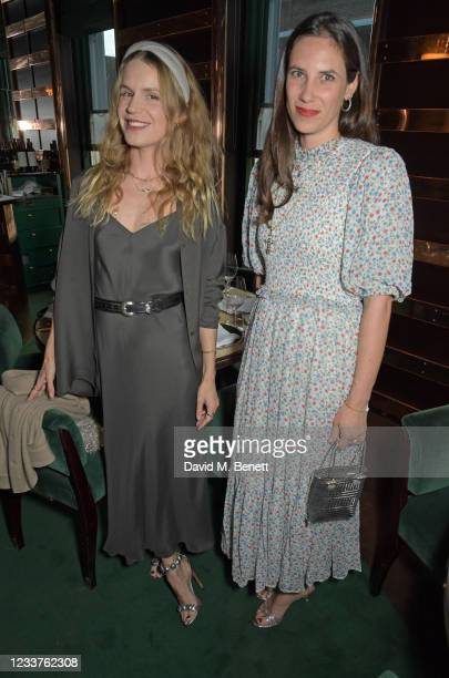 Eugenie Niarchos and Tatiana Santo Domingo attend Andy Valmorbida and Untitled-1's dinner for the Richard Hambleton, Rizzoli and Castle Gallery...