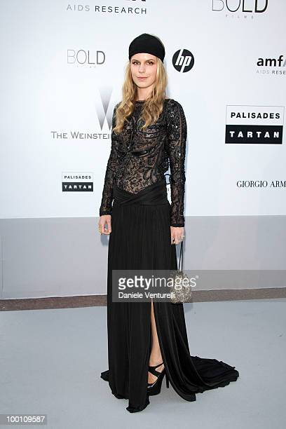 Eugenie Niarchos attends the amfAR's Cinema Against Aids Gala at the Hotel Du Cap during the 63rd International Cannes Film Festival on May 20 2010...