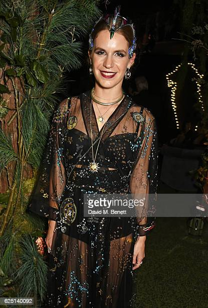 Eugenie Niarchos attends The Animal Ball 2016 presented by Elephant Family at Victoria House on November 22 2016 in London England