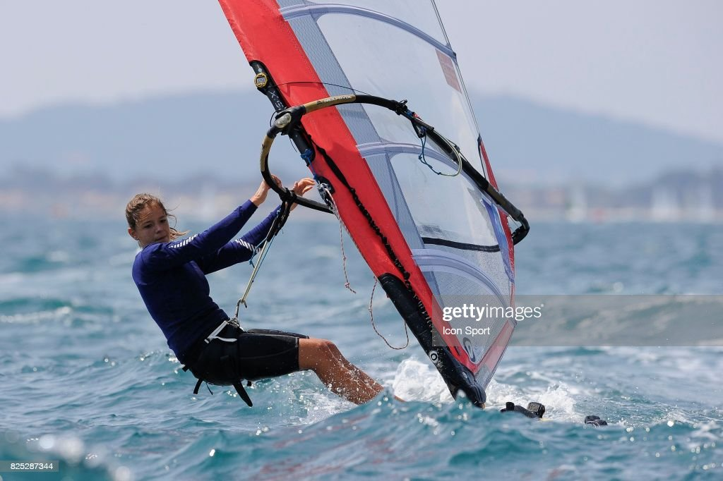 Eugenie Ricard Planche A Voile Rsx Semaine Olympique Francaise News Photo Getty Images