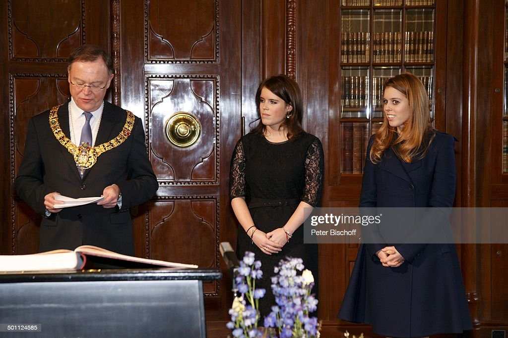 Eugenie Victoria Helena Mountbatten-Windsor, Prinzessin von Großbritannien und Nordi : News Photo