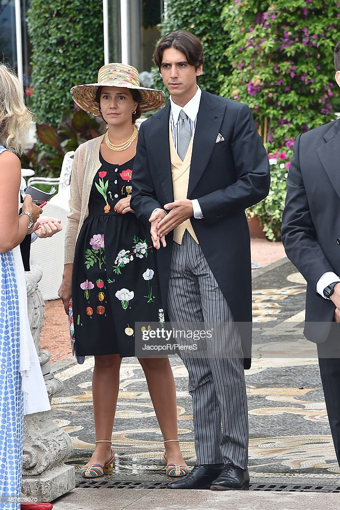 Celebrity Sightings During Pierre Casiraghi And Beatrice Borromeo Wedding