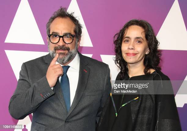 Eugenio Caballero and Barbara Enriquez attend the 91st Oscars Nominees Luncheon at The Beverly Hilton Hotel on February 4, 2019 in Beverly Hills,...