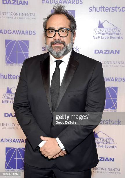 Eugenio Caballero arrives at the Art Directors Guild 23rd Annual Excellence In Production Design Awards at InterContinental Los Angeles Downtown on...