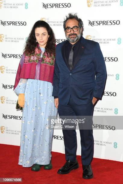 Eugenio Caballero attends the Nespresso British Academy Film Awards nominees party at Kensington Palace on February 9, 2019 in London, England.