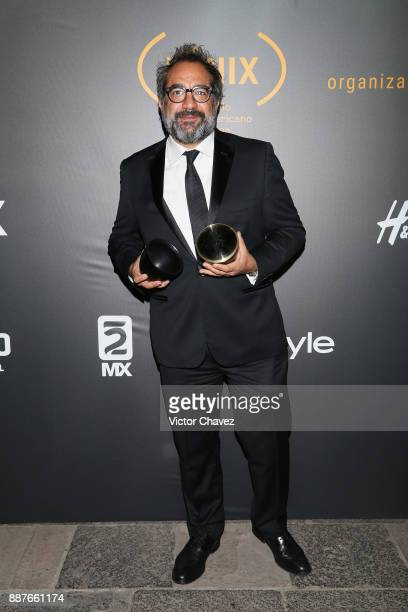 Eugenio Caballero attends the Premio Iberoamericano De Cine Fenix 2017 press room at Teatro de La Ciudad on December 6 2017 in Mexico City Mexico